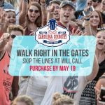 Skip the Lines! Get your Tickets by May 19th!