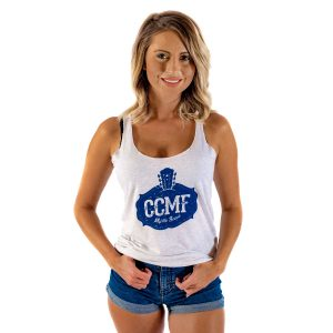 CCMF Vintage Ladies Tank – White