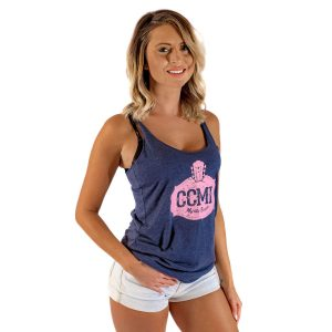 CCMF Vintage Ladies Tank – Navy