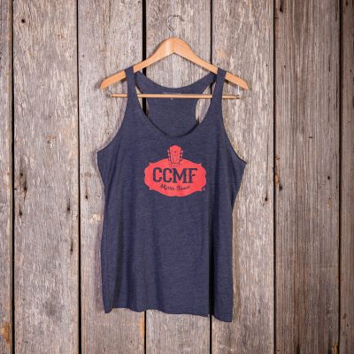 2017 CCMF Vintage Ladies Tank – Navy