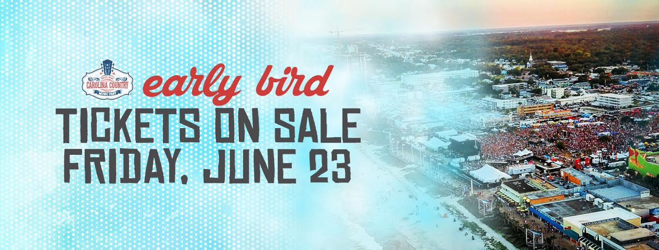 Early Bird Ticket Sale