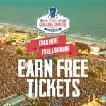 Bring your friends to CCMF and EARN an unforgettable experience!