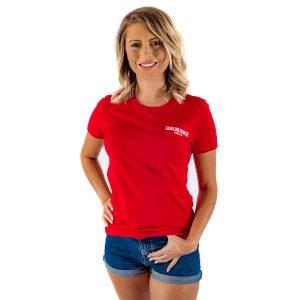 CCMF 2017 Women's Lineup Shirt – Red