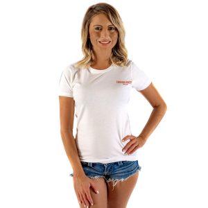 CCMF 2017 Women's Lineup Shirt – White