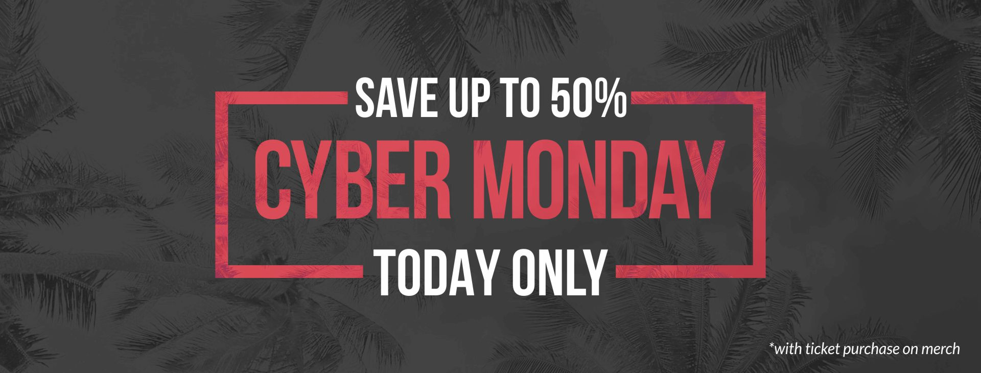 Monday is the New Friday! One More Chance to Save!
