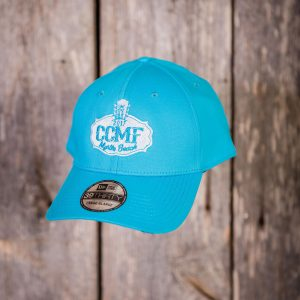CCMF 2017 New Era Stretch Fit Hat – Turquise