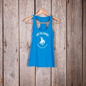 Ride'Em Cowgirl Tank – Turquoise