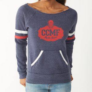 CCMF Ladies Football Sweatshirt – Navy