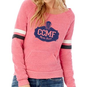 CCMF Ladies Football Sweatshirt – Pink