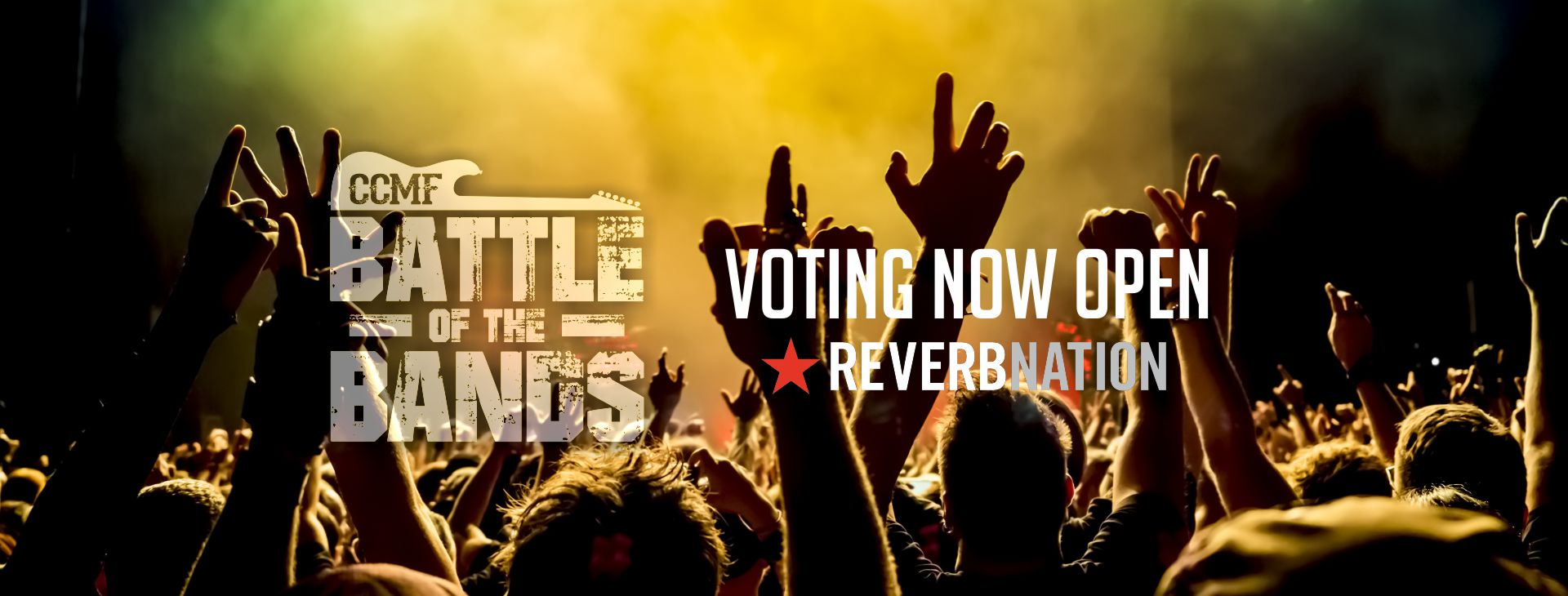 CCMF 2018 Battle of the Bands Voting Has Begun!