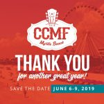 Save the Date for CCMF 2019!