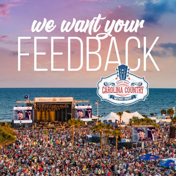 Myrtle Beach Music Festival Schedule