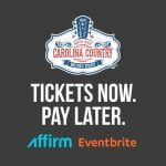 Get Your CCMF Tickets Now, Pay Later
