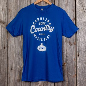 CCMF 2018 Lineup T-Shirt – Blue