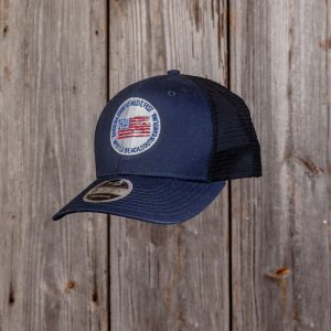 CCMF Adjustable Flag Badge Hat – Navy
