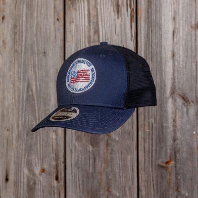 CCMF Adjustable Flag Badge Hat – Navy