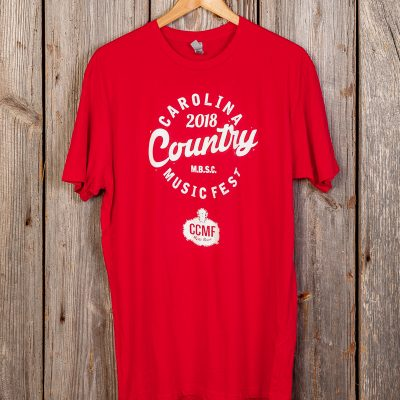 CCMF 2018 Lineup T-Shirt – Red