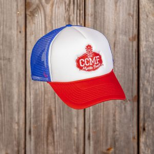 CCMF 2018 Red, White, & Blue Trucker Hat