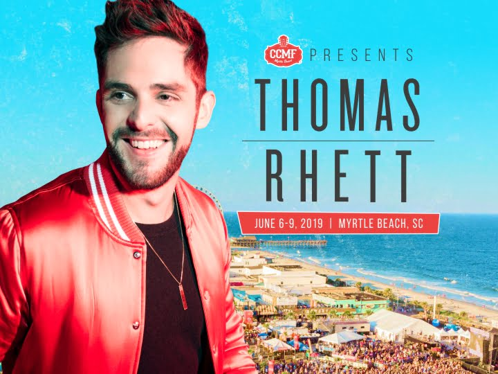CCMF is proud to present Thomas Rhett!
