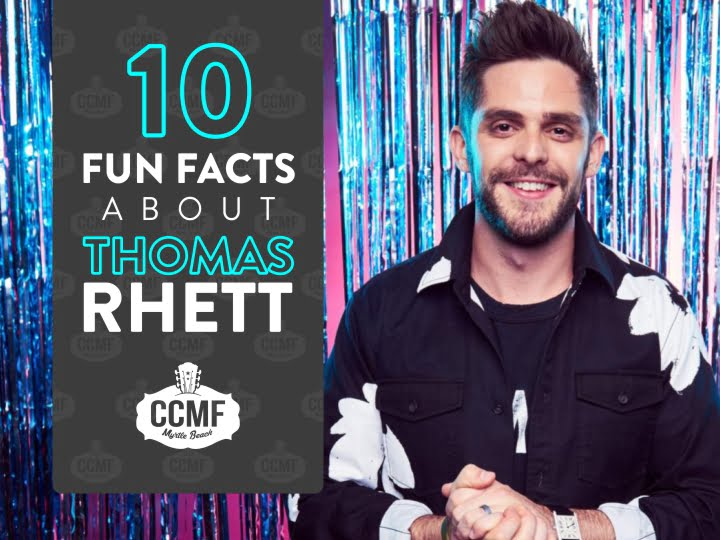 10 Fun Facts About Thomas Rhett