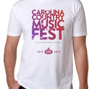 CCMF 5yr Anniversary T-Shirt – White