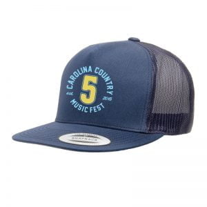 "CCMF Anniversary ""5"" Embroidered Cap – Navy"