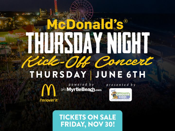 McDonald's Thursday Night Kick-Off Concert!