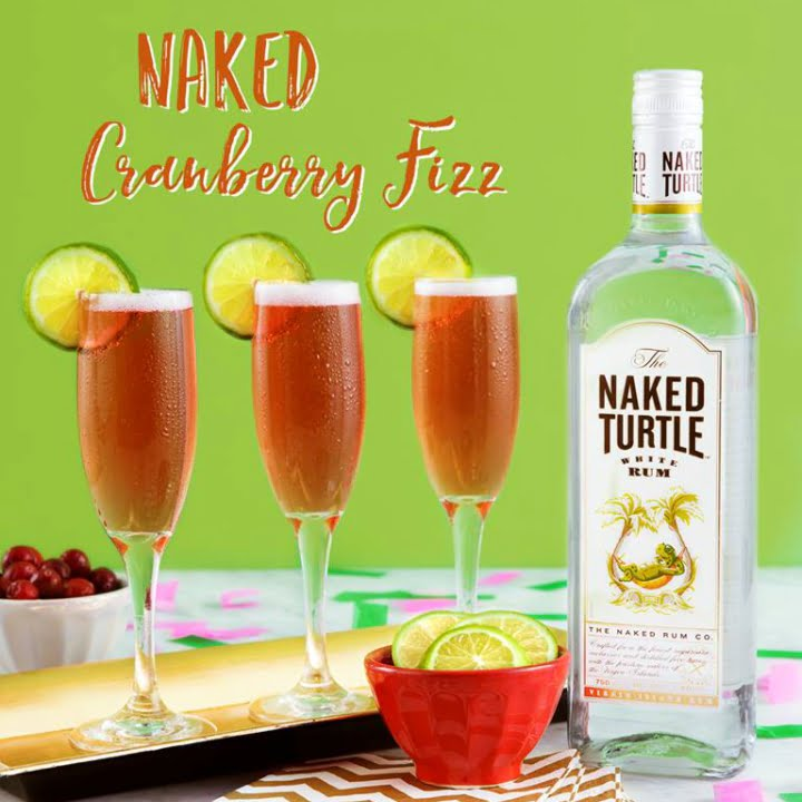Naked Cranberry Fizz – Happy New Year!