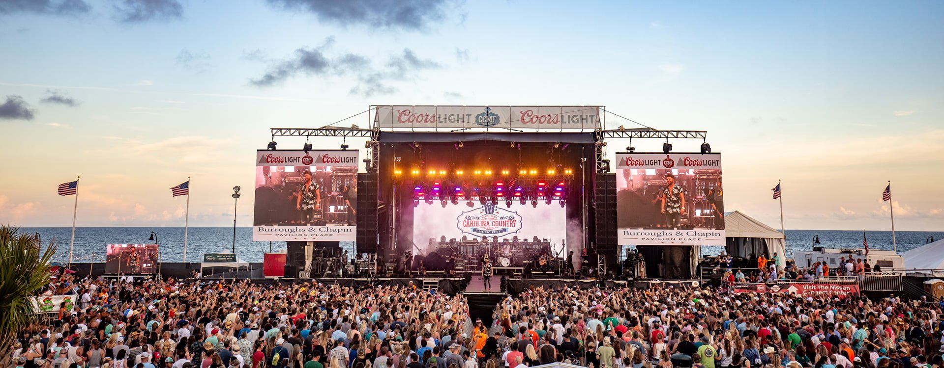 CCMF Lyrics Down Cold presented by Coors Light© | Carolina Country