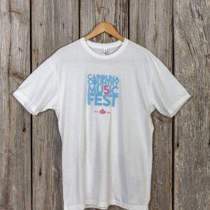 Carolina Country Mu5ic Fest T-shirt – White