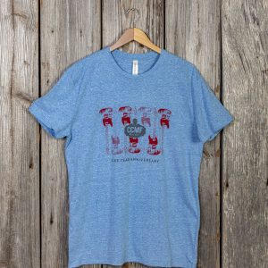 CCMF 5yr Anniversary Guitar T-Shirt – Royal Blue