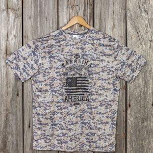 2019 Vets America Men's Camo Tee