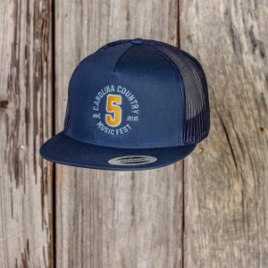 """CCMF Anniversary """"5"""" Embroidered Cap – Navy"""