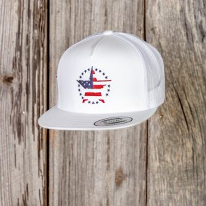 2019 Vets Embroidered Cap – White