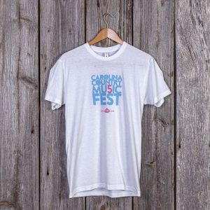 Carolina Country Mu5ic Fest T-shirt – White
