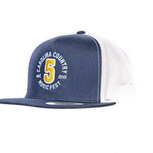 "CCMF Anniversary ""5"" Embroidered Cap – Navy & White"