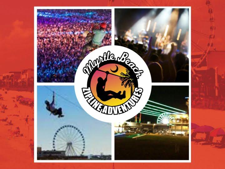 Myrtle Beach Zipline Adventures Inside the Fest!