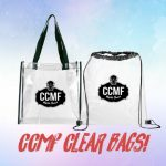 Clear Bag Policy CCMF 2019!