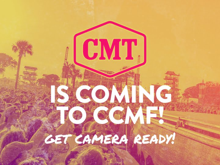 CMT Is Coming To CCMF 2019!