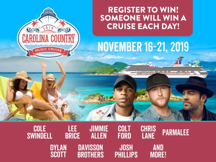 CCMF Party Goes to the Caribbean! | Carolina Country Music Fest