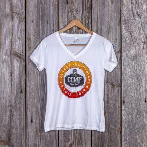 Women's CCMF 2019 Lineup Tee – White