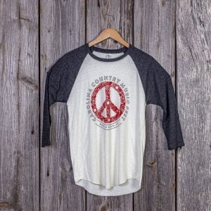 "CCMF ""Peace"" 3/4 Sleeve Shirt"