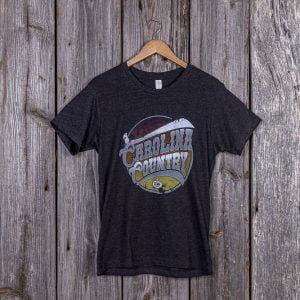 Carolina Country Men's T-Shirt – Heather Black