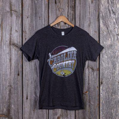 Carolina Country Men's T-Shirt – Heather Black