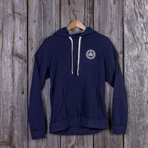 CCMF 5yr Embroidered Pullover Hoodie – Navy