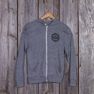 CCMF 5yr Guitar Zip-Up Hoodie – Grey
