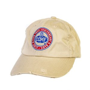 CCMF 5yr Khaki Distressed Cap