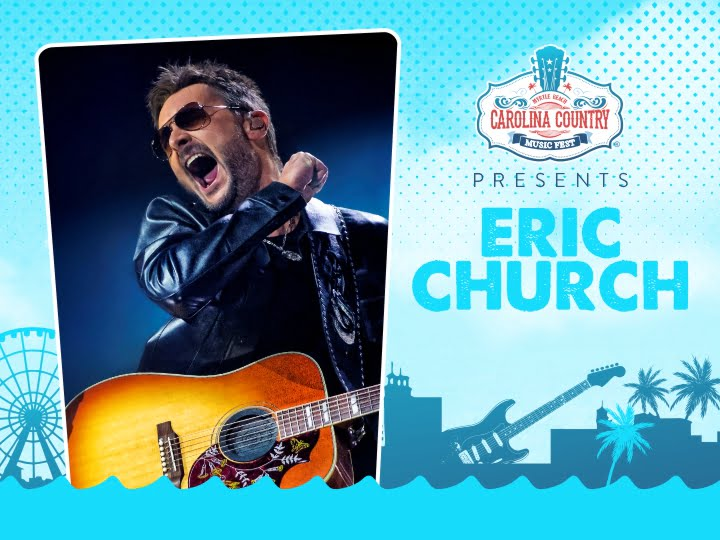 THE SECOND HEADLINER FOR CCMF 2020: ERIC CHURCH!
