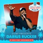 THE THIRD HEADLINER TO CCMF 2020: DARIUS RUCKER!