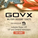 GovX Military Discount Tickets Are Now Available for CCMF 2020!